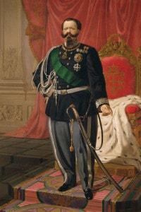 Ritratto di Vittorio Emanuele II