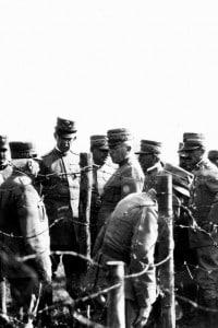 Soldati durante la Prima guerra mondiale, che provocò il logorìo delle finanze russe