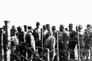 Soldati durante la Prima guerra mondiale