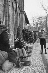 Bambini tedeschi alla fine della seconda guerra mondiale