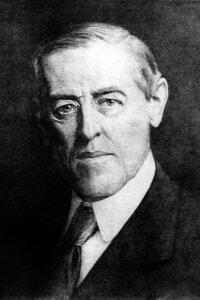 Ritratto di Woodrow Wilson