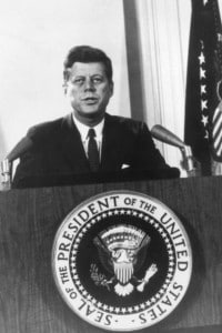 Il discorso di Kennedy alla nazione, sulla crisi di Cuba ed il rischio di un conflitto nucleare