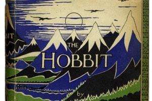 Copertina dell'edizione del 1937 de Lo Hobbit