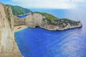 Scorcio di Zante, l'isola amata da Foscolo