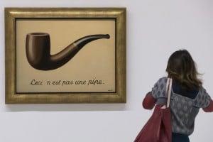 La Trahison des Images, ceci n'est pas une pipe, 1929, Rene Magritte