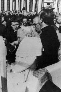 L'attentato a Giovanni Paolo II a Piazza San Pietro il 13 maggio del 1981