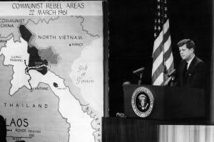 Conferenza stampa di Kennedy sul Vietnam del nord