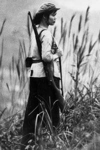 Nguen Thi-Hai, combattente del Vietna del Nord