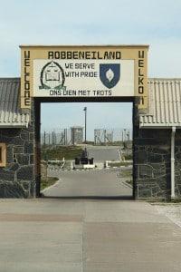 Il carcere di Robben Island, Sudafrica