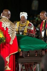 Il funerale di Nelson Mandela, il 14 dicembre 2013