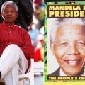 Nelson Mandela durante la campagna elettorale