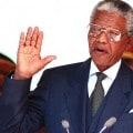 Giuramento di Nelson Mandela