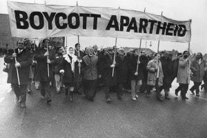 Manifestazione anti-apartheid