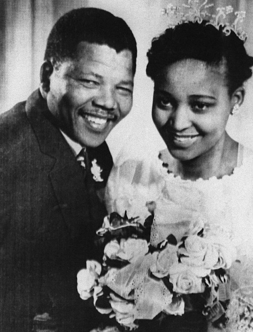 Matrimonio di Mandela nel 1957
