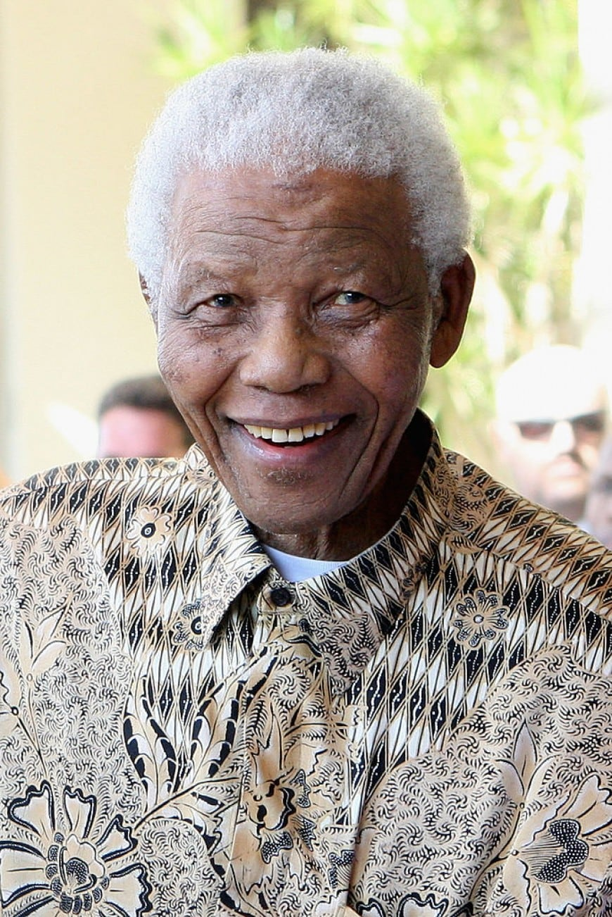 Foto di Nelson Mandela