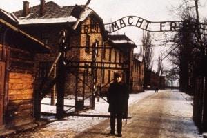 Il campo di sterminio ad Auschwitz