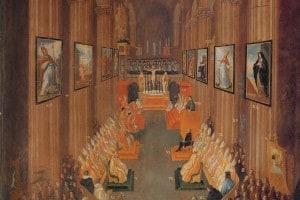 Il Concilio di Trento, che ha chiuso la Controriforma cattolica