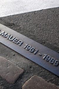 Luogo in cui crollò il muro di Berlino