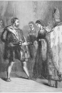 Matrimonio di Enrico VIII e Caterina Parr