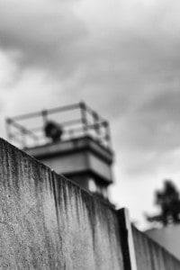 Sorveglianza del muro di Berlino