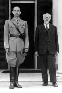 Ivanoe Bonomi e il Principe Umberto