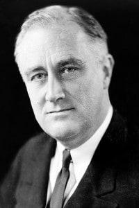 Franklin Delano Roosevelt, promotore del New Deal per il rilancio economico dopo la crisi