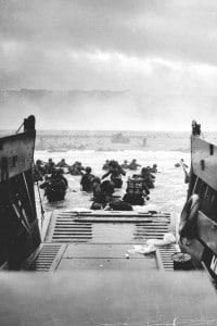 Foto dello sbarco in Normandia