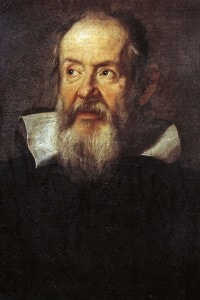 Ritratto di Galileo Galilei ad opera di Justus Sustermans, 1636