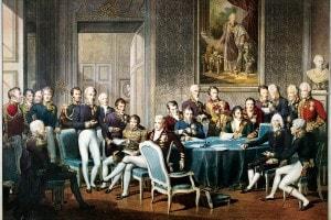 I partecipanti al Congresso di Vienna, 1814-1815