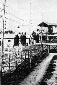 Campo di concentramento di Fossoli allestito dagli italiani nel 1942