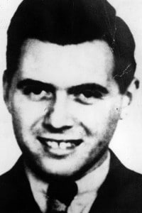 Foto di Josef Mengele: medico nazista che lavorò presso Auschwitz tra il 1943 e il 1945
