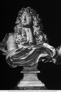 Busto-ritratto di Luigi XIV, opera in marmo di Gian Lorenzo Bernini
