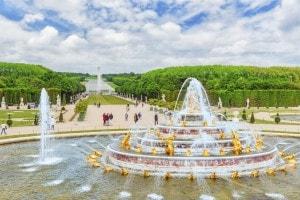 I giardini della reggia di Versailles