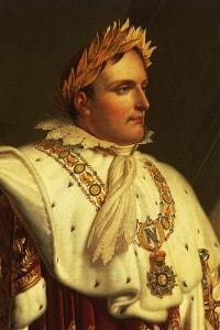 Ritratto di Napoleone Bonaparte, olio su tela di Anne-Louis Girodet de Roussy-Trioson