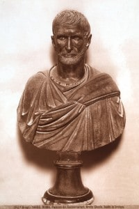 Busto bronzeo di Bruto