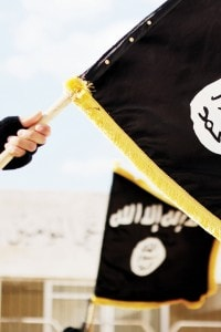 La bandiera dell'Isis