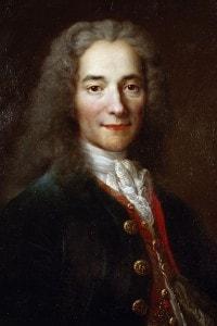 Il grande filosofo francese Voltaire