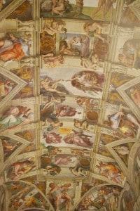 Immagine della volta della Cappella Sistina