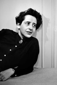 Hannah Arendt (Hannover 1906 - New York 1975)