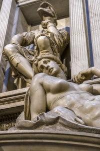 Interni della Cappella dei Medici a Firenze