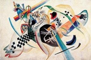 Composizione su bianco, Wassily Kandinsky