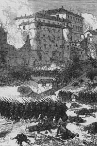 3 novembre 1867: la Battaglia di Mentana durante le guerre per l'unificazione italiana