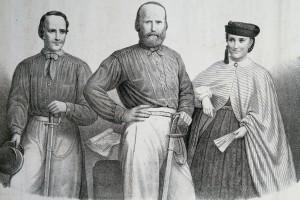 Immagine di Giuseppe Garibaldi e la sua famiglia, 1862