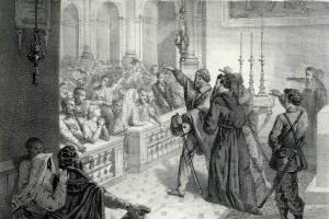 Giuramento di garibaldi a Marsala