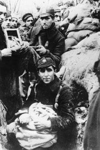 Truppe del Fronte popolare durante la Guerra civile spagnola