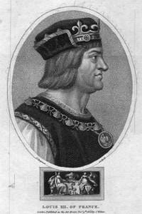 Re di Francia Luigi XII