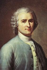 Ritratto di Jean-Jacques Rousseau