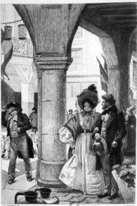 Emma Bovary in un'illustrazione di Carlo Chessa