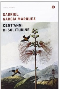 "La copertina del libro ""Cent'anni di solitudine"" di Gabriel García Marquez"