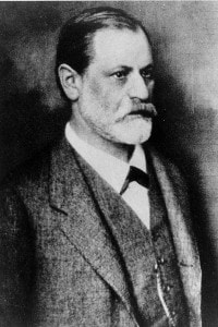 Ritratto di Sigmund Freud